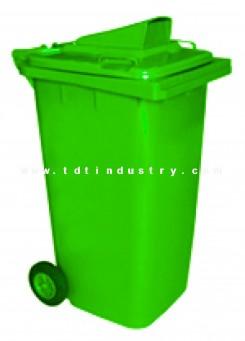 Thùng đựng rác HDPE 240 lít nắp hở